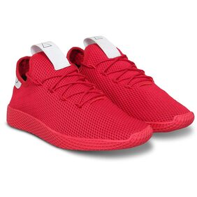 Clymb Men 9544 Red Red Running Shoes