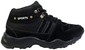 Clymb Men Black Running Shoes