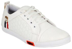 Clymb Men White Sneakers Shoes