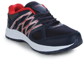 Columbus Men Red Running Shoes