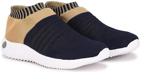 Columbus Women Navy Blue Slip-On Shoes