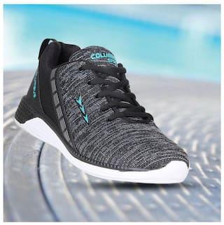 Columbus Men TB-1010 Running Shoes ( Black )