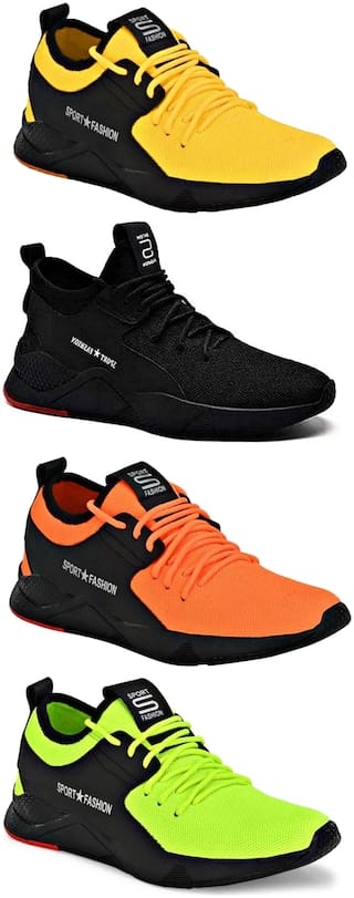 CALCADOS Casual Shoes For Men ( Multi-Color ) 4 Pairs