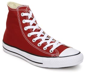 Converse Men Red Sneakers