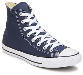 Buy Converse Men Blue Sneakers Online at Low Prices in India ... 32e24467ac852