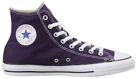 Converse Men Purple Sneakers