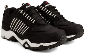 Corpus Laced Black Sports Shoes