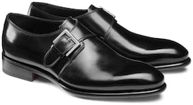 COSTOSO ITALIANO Men Black Monk Shoes