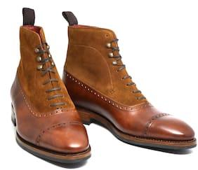 COSTOSO ITALIANO Men Tan Outdoor Boots