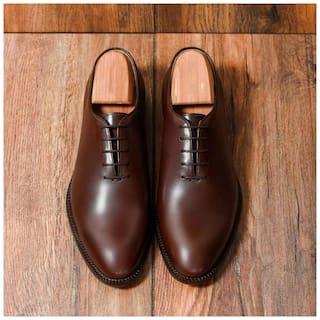 COSTOSO ITALIANO Men Brown Oxford Formal Shoes