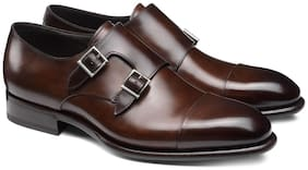 COSTOSO ITALIANO Men Brown Monk Shoes