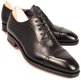 COSTOSO ITALIANO Men Black Brogues Formal Shoes