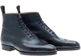 COSTOSO ITALIANO Men Blue Outdoor Boots