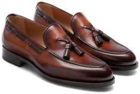 COSTOSO ITALIANO Men Brown Slip-On Formal Shoes