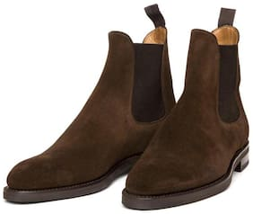 COSTOSO ITALIANO Men Brown Chelsea Boots