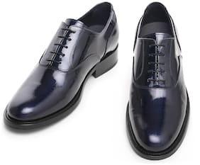 COSTOSO ITALIANO Men Black Oxford Formal Shoes