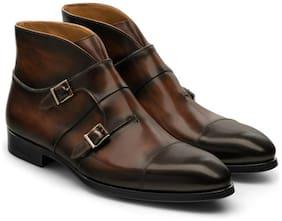 COSTOSO ITALIANO Men Brown Outdoor Boots