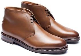 COSTOSO ITALIANO Men Brown Chukka Boots