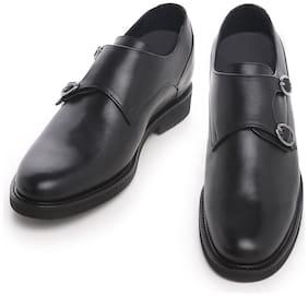 COSTOSO ITALIANO Men Black Monk Shoes Formal Shoes