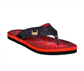 Crazy Bunny Men Red & Blue Flip-Flops