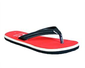 Crazy Bunny Men Red Outdoor Slippers