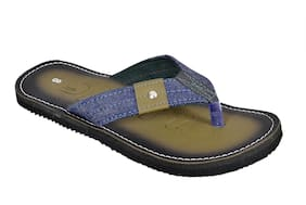 Crazy Bunny Men Olive Casual Flip Flop
