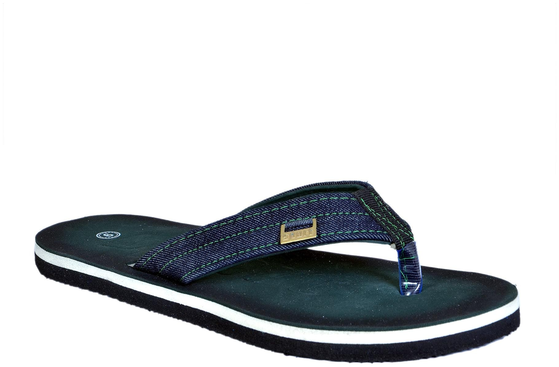 Crazy Bunny Men Green&Olive Casual Flip Flop