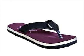 Crazy Bunny Men Purple Flip-Flops