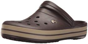 Crocs Brown Sandals & Floaters For Men