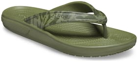 Crocs Men's Black Classic Flip Flops