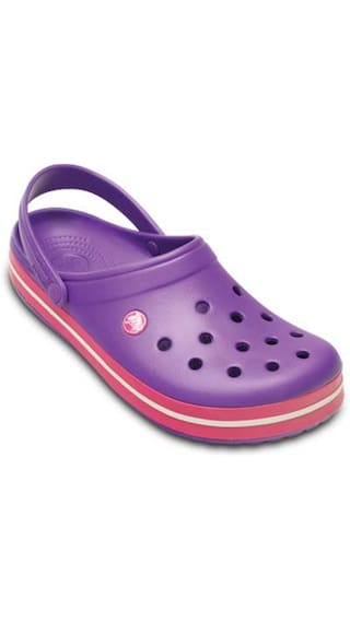 7e015db70 Buy Crocs Crocband Purple Women Clog Online at Low Prices in India ...