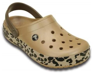 39acc2b23 Buy Crocs Crocband Leopard Clog Online at Low Prices in India ...
