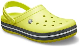 Crocs Men Yellow Clogs