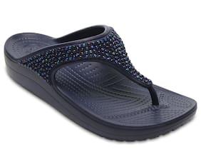 Crocs Women Blue Slippers