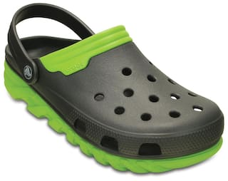 9f9d14b74251 Buy Crocs Men Green Sandals   Floaters Online at Low Prices in India ...