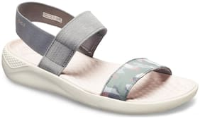 Crocs Women Grey Sandals