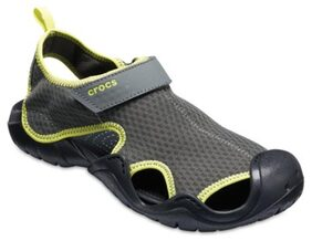 Crocs Men Grey Sandals & Floaters