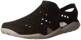 Crocs Grey Sandals & Floaters For Men