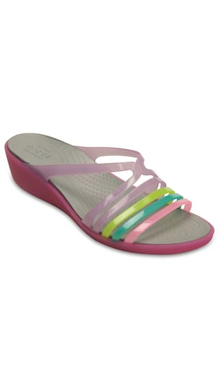 717a26ef3458 Buy Crocs Isabella Mini Wedge W Online at Low Prices in India ...