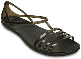 Crocs Isabella Black Sandals for Women