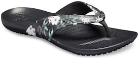 Crocs Women Black Slippers