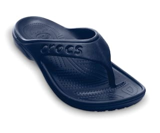 b36553e8ca7 Buy Crocs Men Blue Flipflop - Baya Online at Low Prices in India ...