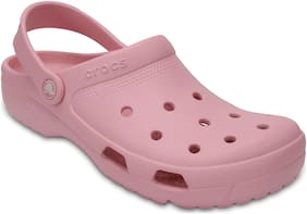 Crocs Men Pink Clogs