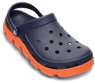 b76041129 Buy Crocs Men Navy Blue Sandals   Floaters Online at Low Prices in ...