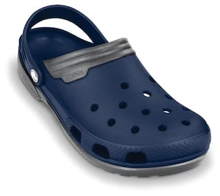531119a4c297 Buy Crocs Men Navy Blue Sandals   Floaters Online at Low Prices in ...