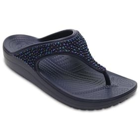 Crocs Navy Blue Slippers