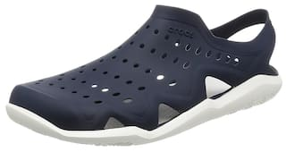 d4d39616bf0a26 Buy Crocs Unisex Swiftwater Wave Navy Blue Clogs Online at Low ...
