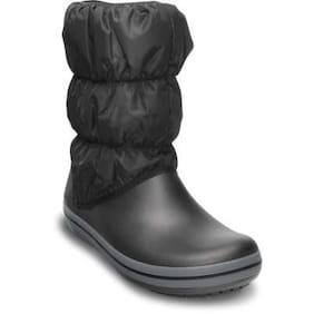 Crocs Women's Brown Winter Puff Boots