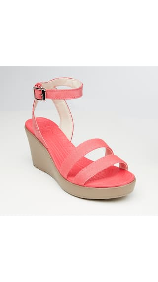12219e21bd Buy Crocs Women Leigh Wedges Online at Low Prices in India ...