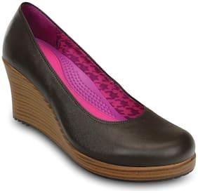 Crocs Women A-leigh Closed Toe Wedges